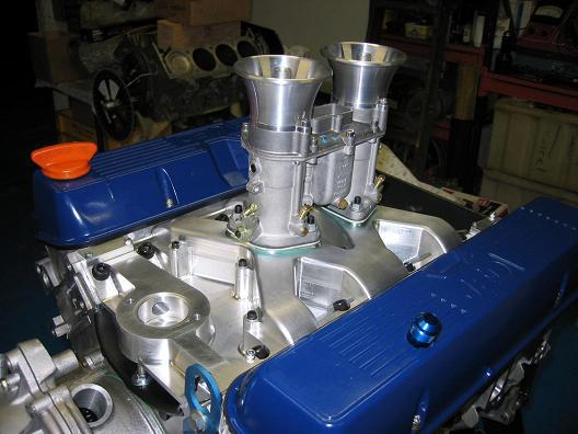New cnc manifold produced for SD1 Gr 1 engines